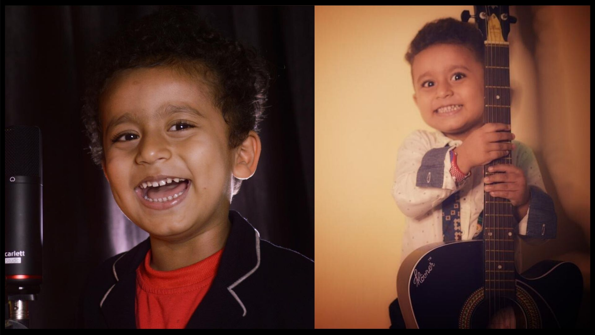Cutest child who dreams to become a Rock Singer - Here is the story of a 3 yr old kid Dhritishman Chakraborty