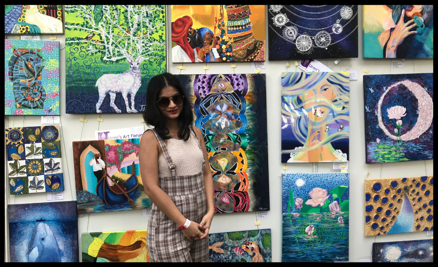 Komal Ullal - An Artist par excellence! National Record holder for winning several accolades and recognitions!