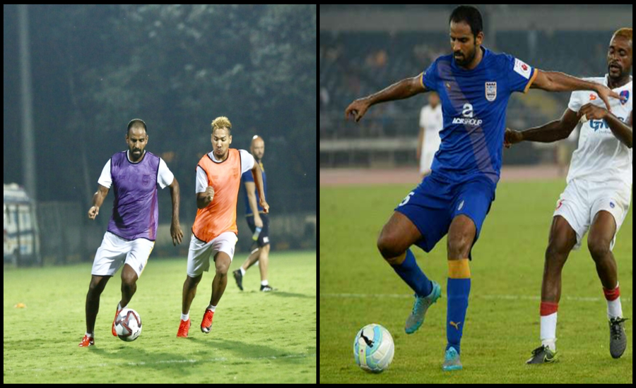 """Football has a great scope in our country""- star defender of India, Anwar Ali"