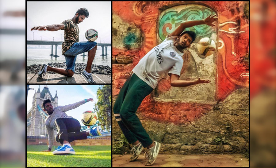 Broken Ankle but, Dreams Intact - Know the story of Football Freestyler Archis Patil