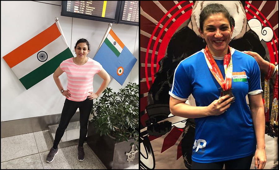 Power Lifter Bhavna Tokekar aka Supermum rejuvenates motherhood to another level