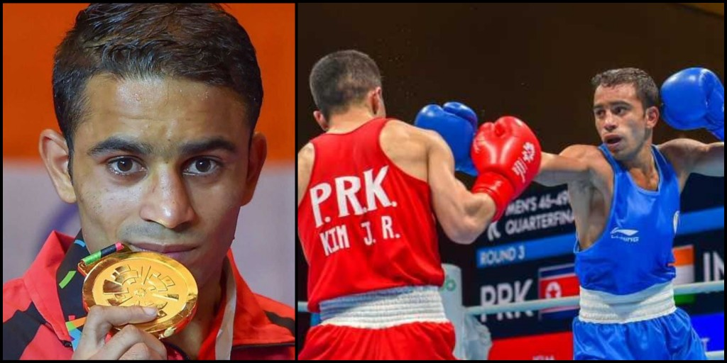 A boxer who once couldn't afford gloves now loves flaunting his Gold Medals- 'Desi Sher Amit Panghal'