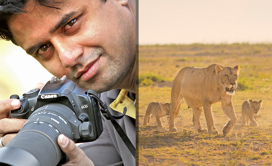 The Founder of DCP Expeditions- Dr. Caesar Sengupta's expertise in Photography Art is phenomenal!
