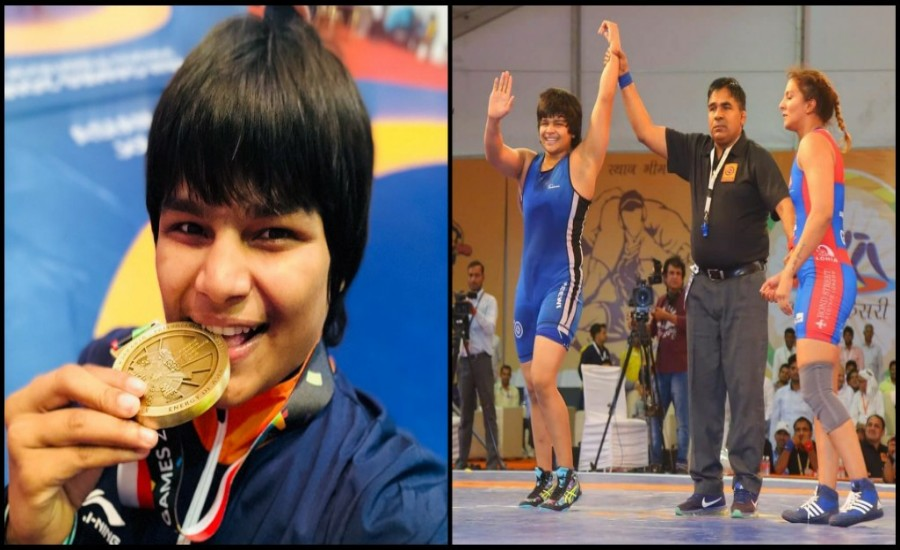 On the Road to bag the Gold at Olympics 2020- 'The Ferocious Beast of the Akhada' Divya Kakran Sain