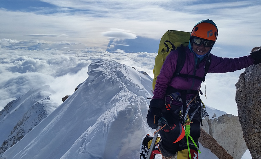 """Adventure without risk is Disneyland"" - says Jaahnavi, the youngest girl in the world  to scale Mt. Elbrus"