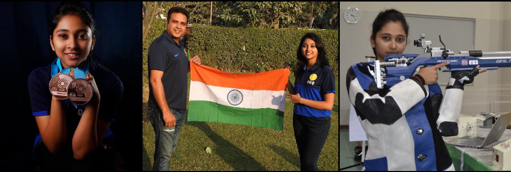 The Teenage Shooter challenged herself & won Silver at CWG under guidance of coach Joydeep Karmakar – Know the shots of Mehuli Ghosh
