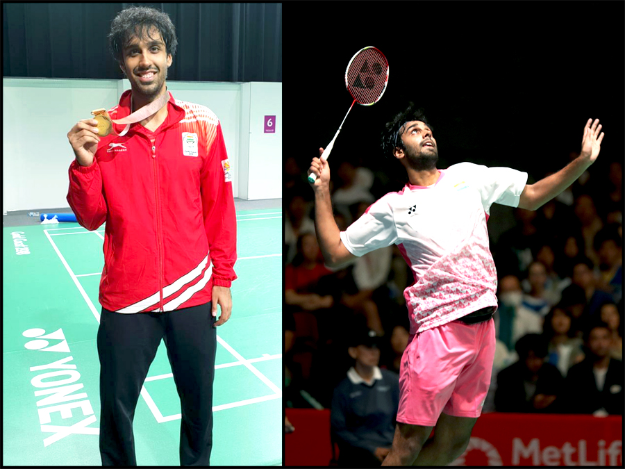 Impressive & Consistent Performer – Badminton Gold Medalist in Commonwealth 2018- Pranaav Jerry Chopra