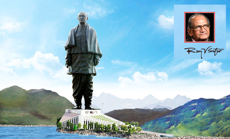 """I don't feel I achieved everything yet""- Legendary Sculptor of ""The Statue of Unity""- Ram V. Sutar"