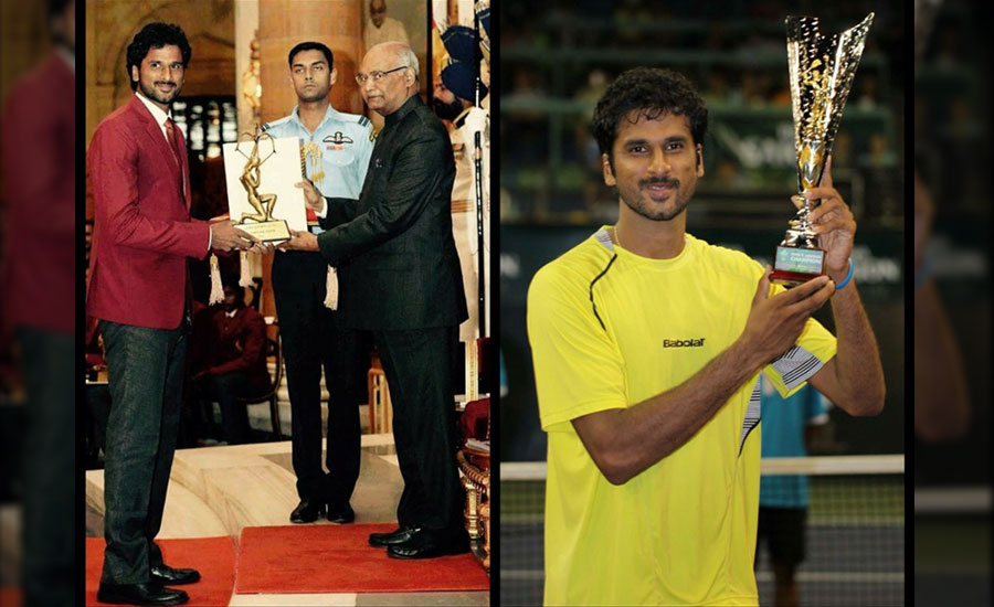 Arjuna Award, Romance, 6-4… Tennis Player Saketh Myneni has got it all!