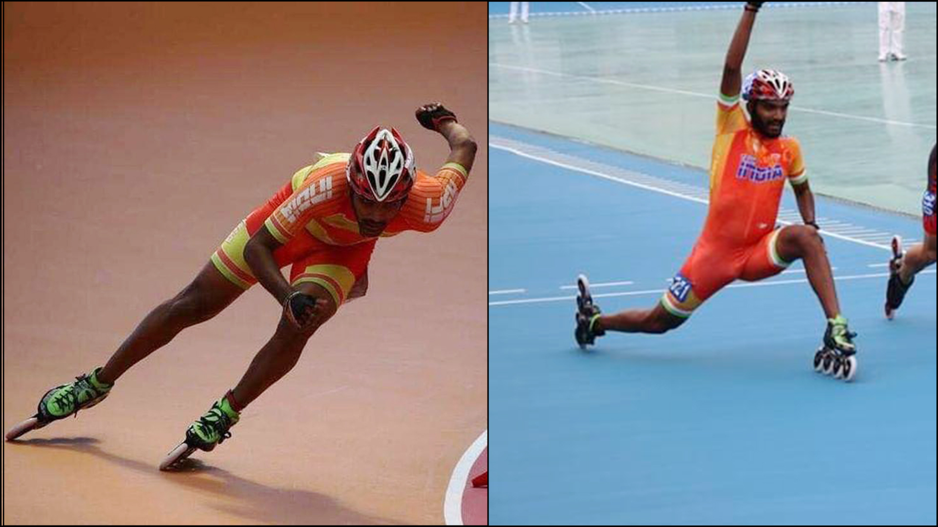 Speed Skater Vikram Ingale's way of facing downfalls is a strong dosage of motivation!