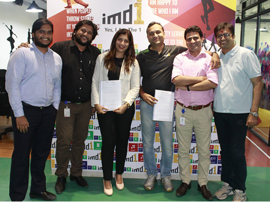 imd1 and HRIA sign MOU for Music, Art, Dance & Sports (MADS)