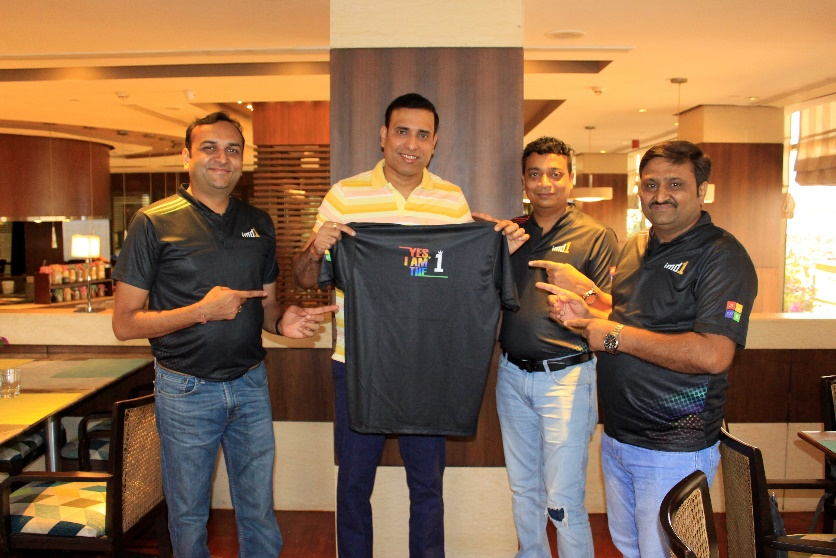 imd1 team with vvs Laxman