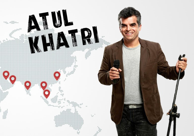 'Stand up' from CEO chair to start journey as a 'Comedian' - That's what the Best Stand Up Comedian 'Atul Khatri' chose!