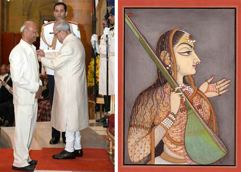The Padma Shri maestro painter adding colors to Rajasthani traditional art – The journey of Tilak Gitai