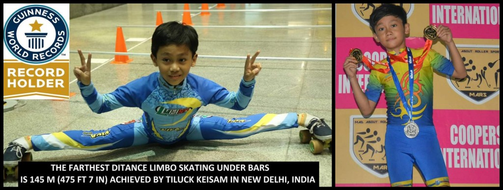 10-year-old creating World Records by being the Pioneer of Limbo Skating in India- Young Star Tiluck Keisam