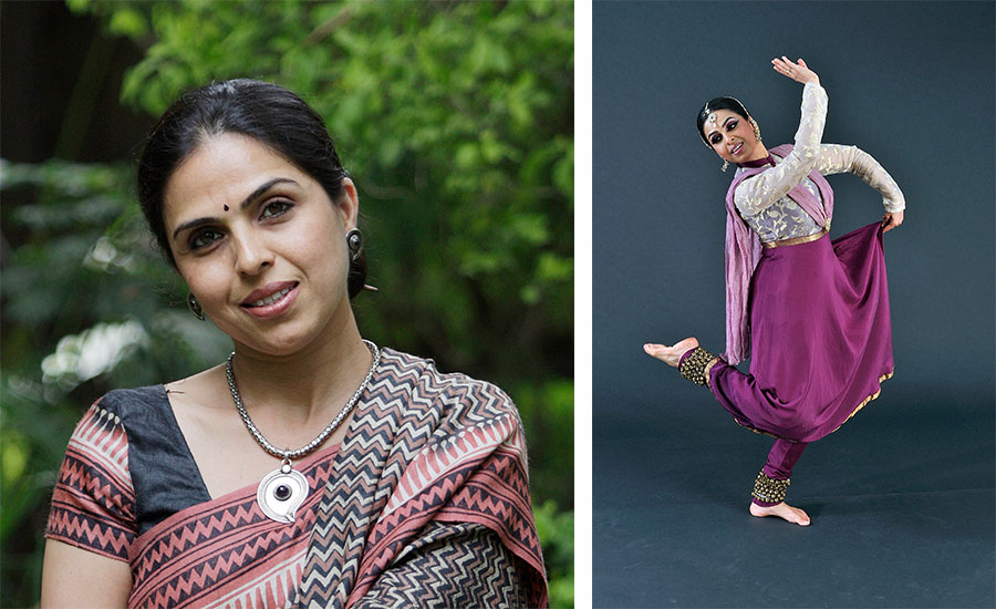 Kathak and Odissi dancer Yogini Gandhi